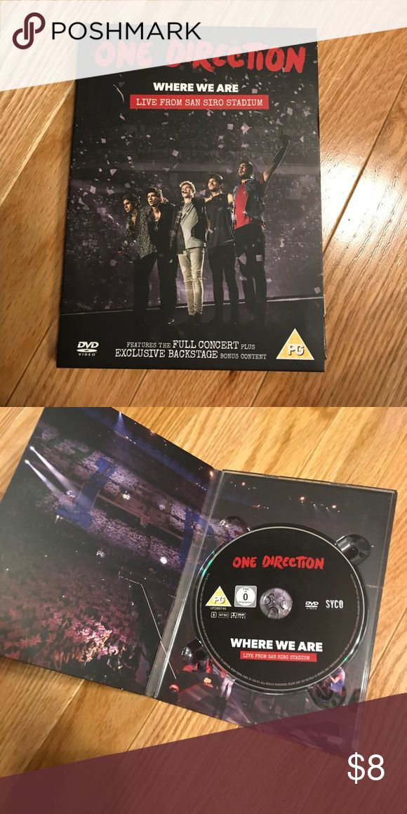 One Direction DVD One Direction Concert DVD live from san siro stadium Other