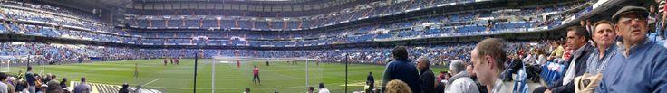 Estadio Santiago Bernabeu in Madrid Real Madrid vs Sporting Gijon
