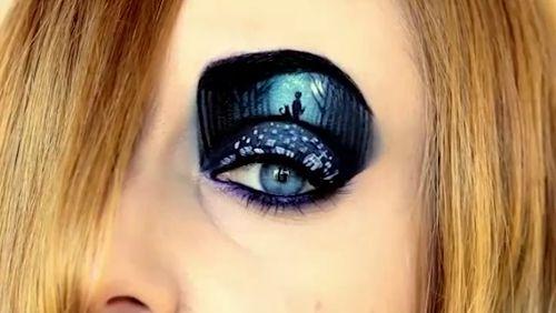 Oczy są oknami duszy. Zobaczcie niesamowite obrazy na powiekach w wykonaniu Tal Peleg.   #makeup #beautymania #art #powieki #eyelids https://video.buffer.com/v/58fccb4dc48fcec9594048b8