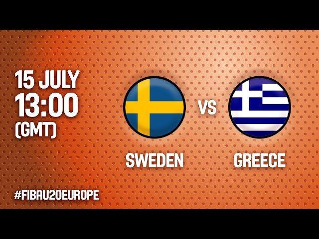 Ευρωπαϊκό Πρωτάθλημα Νέων Γυναικών | Live  ο αγώνας ΕΛΛΑΔΑ - Σουηδία  (16:15, 15.07.2016) (Ματοσίνιος, Πορτογαλία)