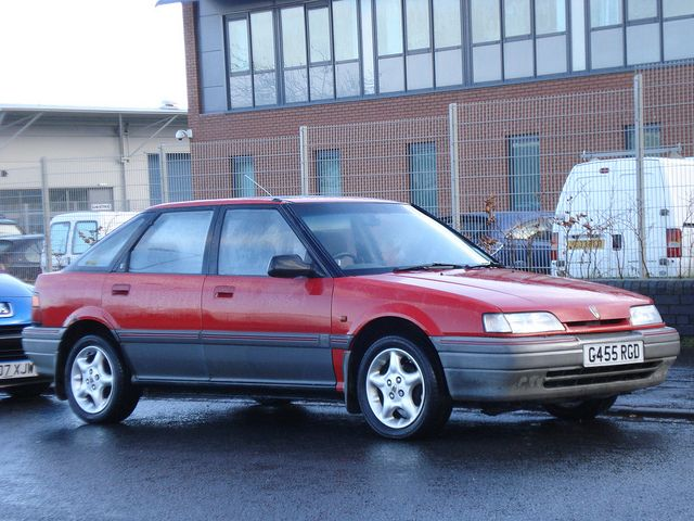 Rover 214 (too much Rover, not enough Honda!)