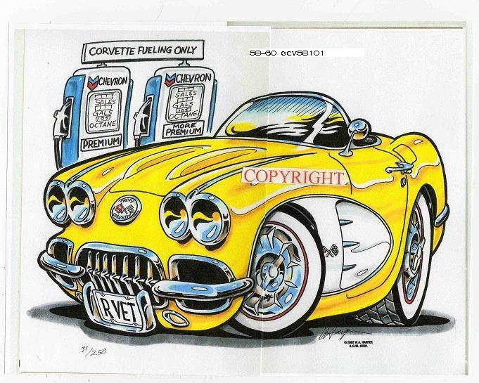 Best Cartoon Muscle Car Art Images On Pinterest Cartoon Art