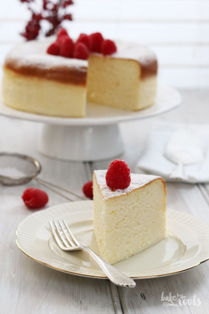 japanese cheesecake. so fluffy.