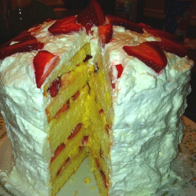 Easy Cleveland Cassata Cake