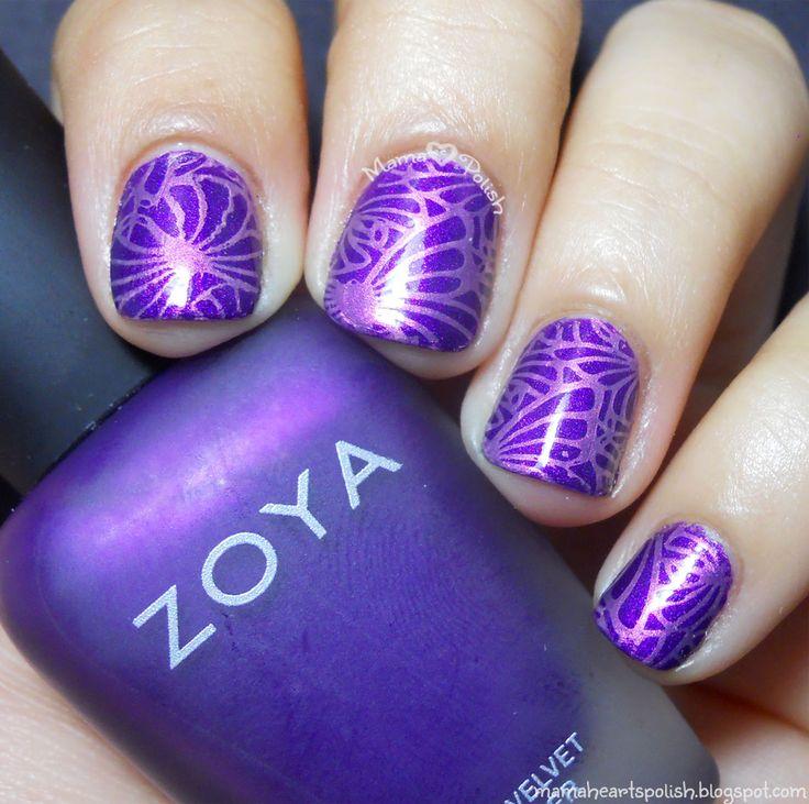 615 best Nail Art Stamping images on Pinterest | Nail art, Nail ...