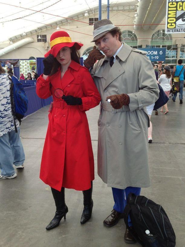 Great combo! Carmen San Diego & Inspector Gadget