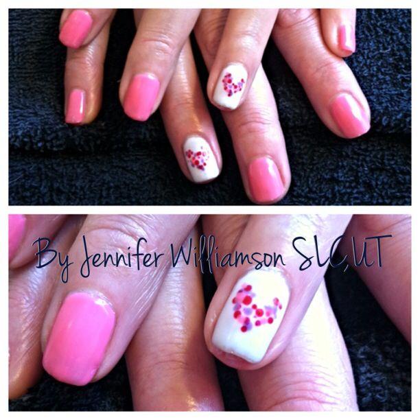 avon valentine's day nail art stencils