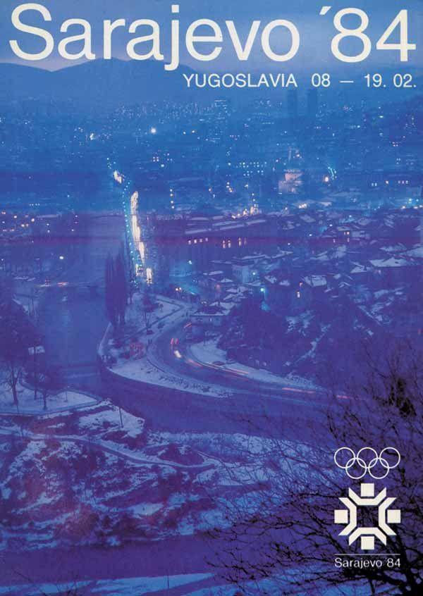 1984 Winter Olympics – XIV Olympic Winter Games – Sarajevo, Yugoslavia