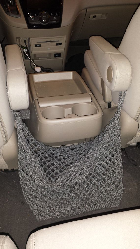 Crochet Net Bag for Storage for vans or other by ASassieCreation