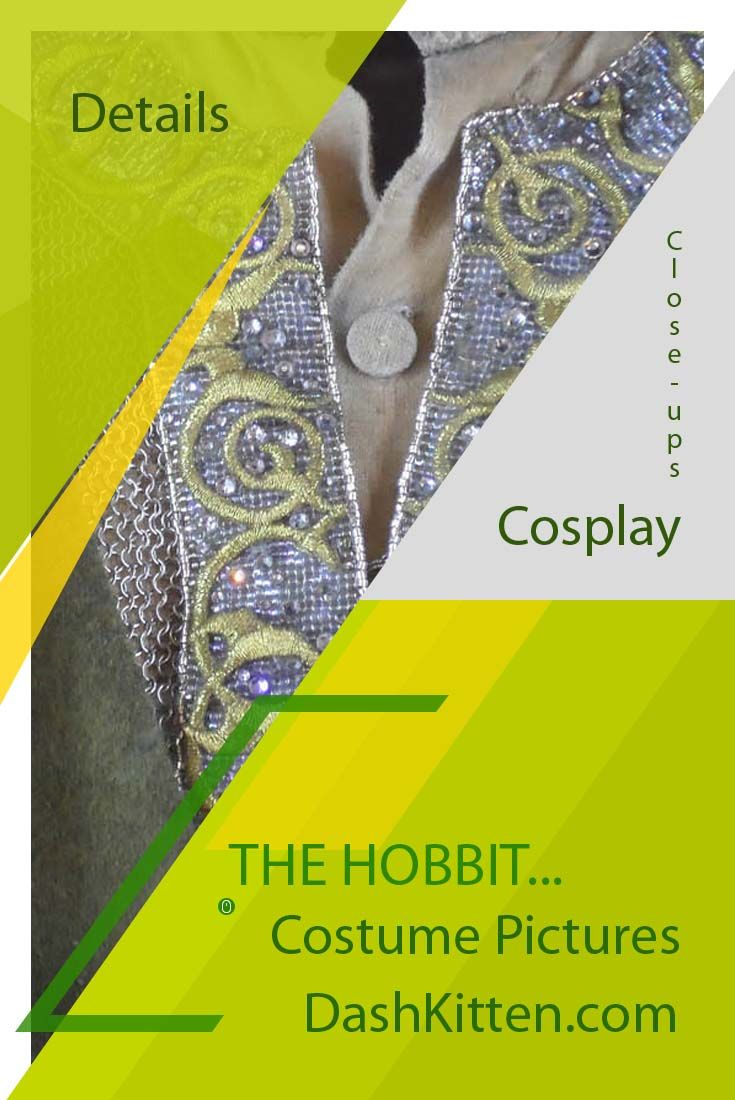 Need to see the costumes from The Hobbit in detail? We have a collection of posts that will allow you to see, and recreate for cosplay and Comicon conventions - many of the costumes in fine detail. Thorin, Bombur, Bilbo Baggins, Fili and Kili.