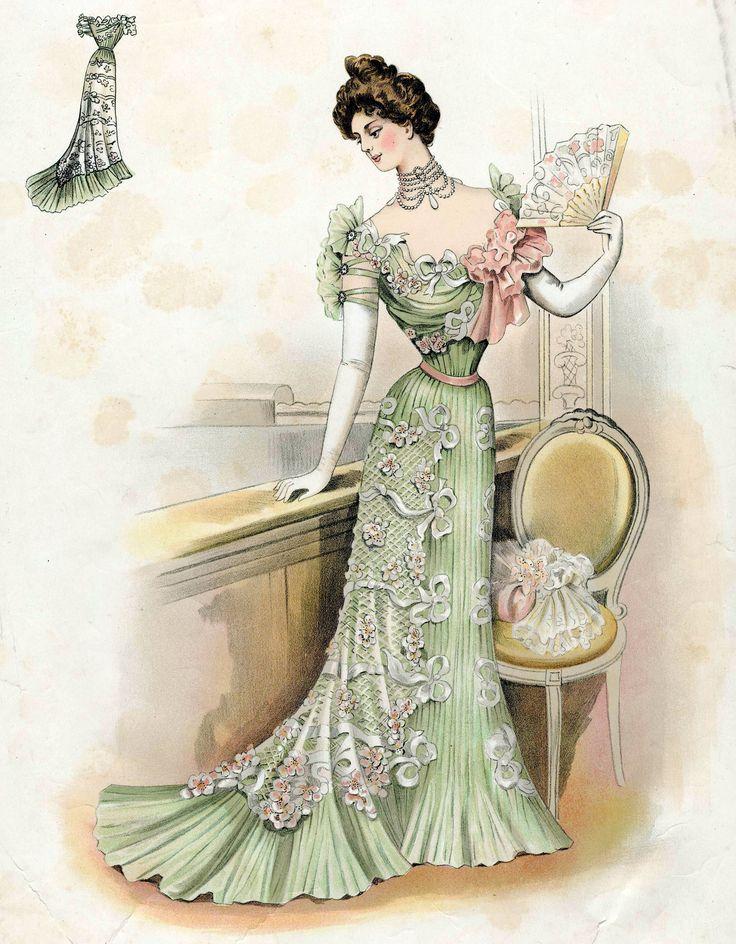 Victorian Fashion - 1899