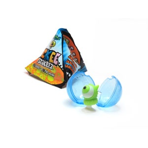 Ickee Stickeez, collectible funky characters that pop-stick onto hard surfaces