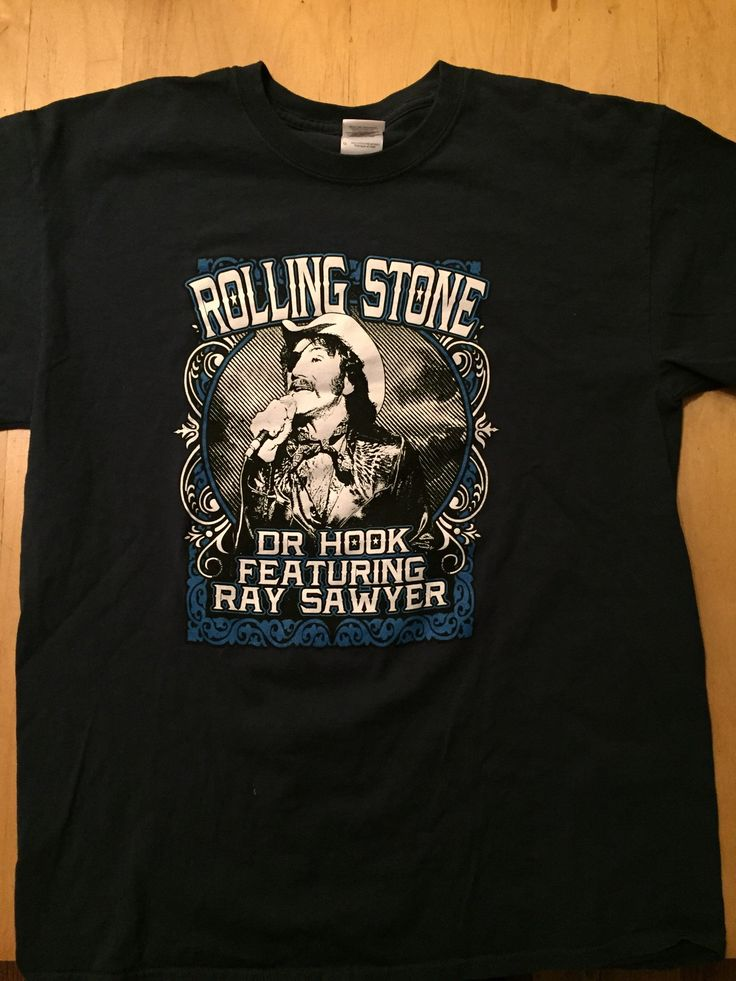 🎶...on the cover of Rolling Stone...🎶 We all LOVE Dr. Hook. And now you can own a t-Shirt with him on the front. Unisex T-Shirt - Sz. large   #drhook #raysawyer #classicrock #onthecoveroftherollingstone #sylviasmother #sharingthenighttogether #stonerrock #countryrock #southernrock #ccr #shelsilverstein #gertrudethegroupie #70s #70srock #sloppyseconds #bellyup #pleasureandpain