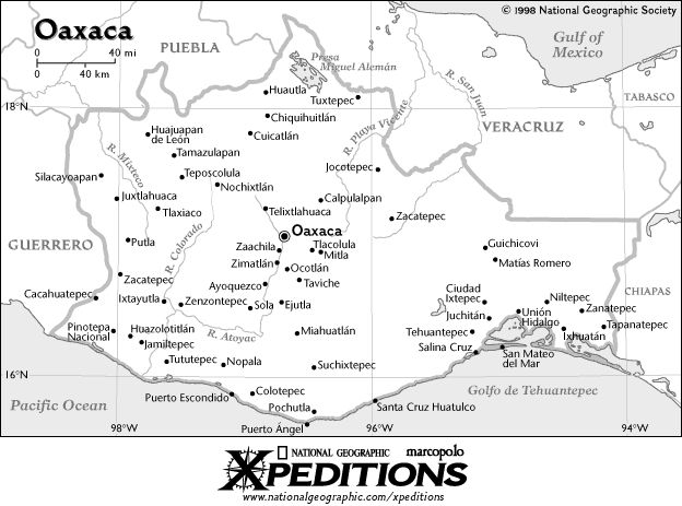 ... oaxaca is the fifth largest state in the republic according to oaxaca
