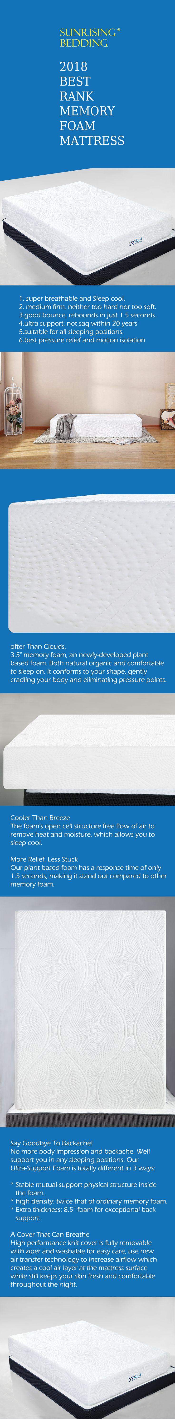 12 inch memory foam mattress sleeps on cloud supportive with certipurus certified foam