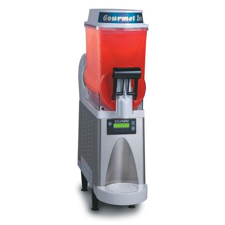 Slush Making Machine Drink Slushy Smoothie Maker Auto Control 15LX2 Air Cooling