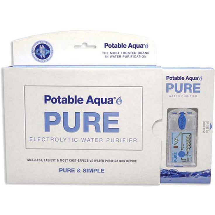 Potable Aqua (Blue) Pure Water Filter System