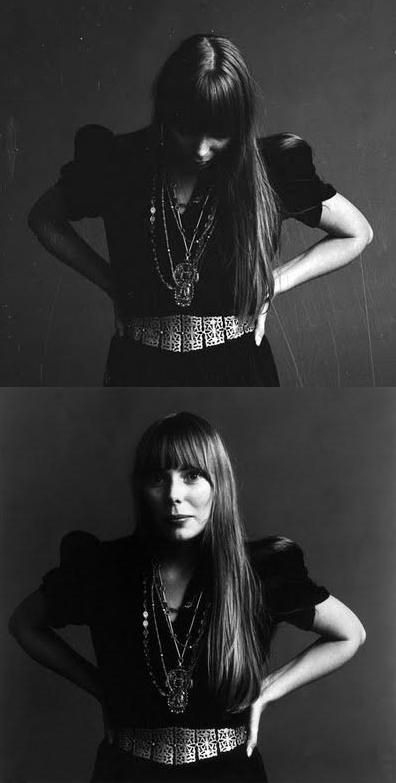 I've been called Goth Joni Mitchell by more than one Buffalo Exchange employee.