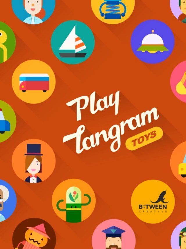 Play Tangram consists of two types: Nature and Toys check out the movement of each symbol in animation while solving puzzles and learning words. This game will entertain your children while learning the basic concepts of the parts and the whole of shapes.