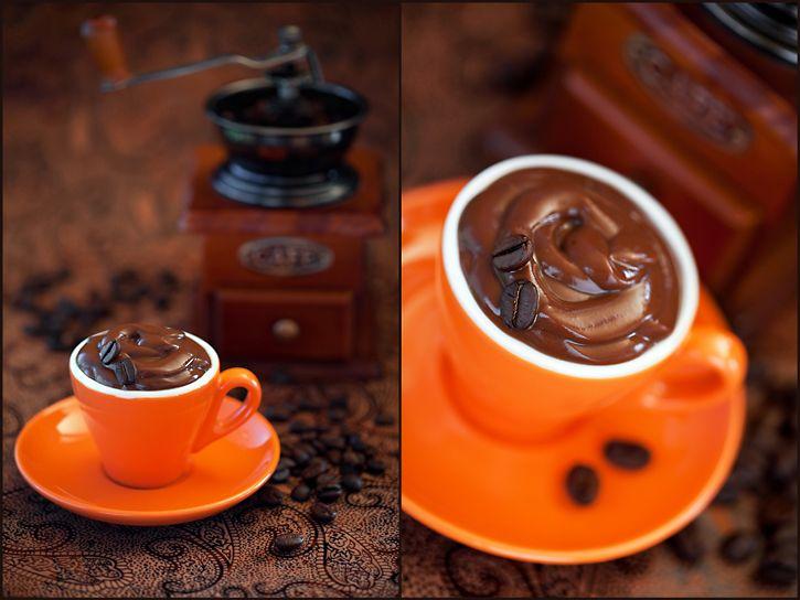 Кофейный пудинг