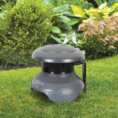 The Dusk Activated Half Acre Mosquito Trap - Hammacher Schlemmer
