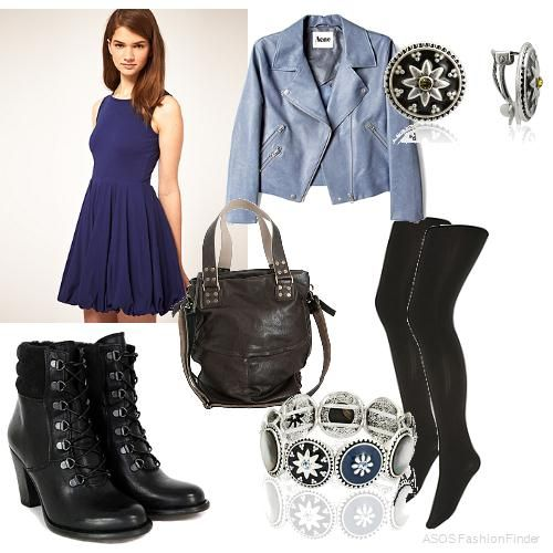 wonderful edgy dress outfits 9