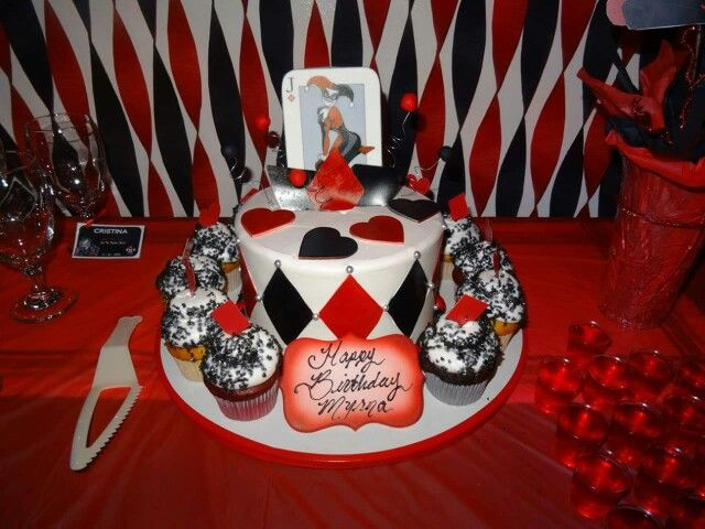 Harley Quinn Cake Harley Quinn Birthday Cupcake