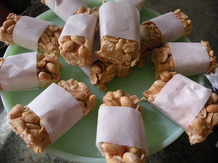 Salted Nut Bars...No bake - and SO, SO good!!