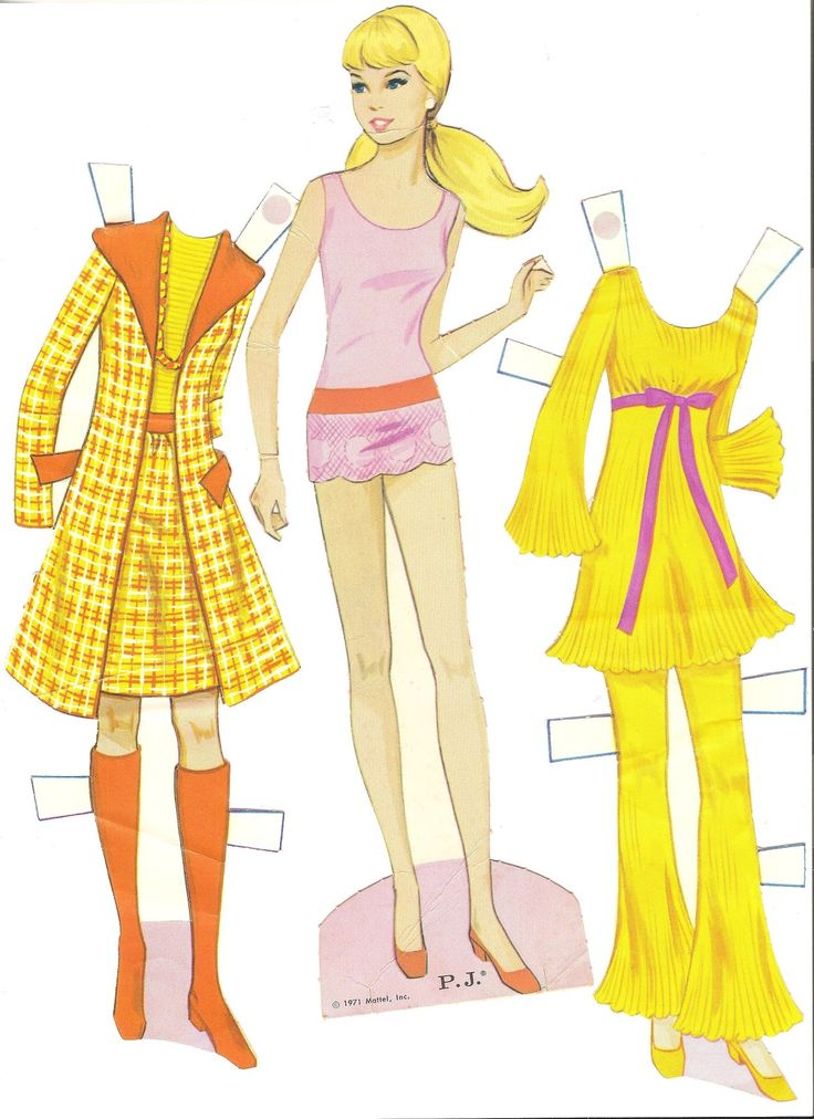 Best 303 Paper Dolls Barbies Images On Pinterest Diy And Crafts