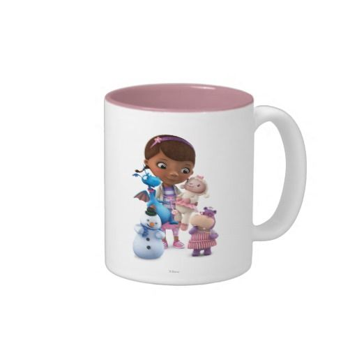 Doc McStuffins and Her Animal Friends. Regalos, Gifts. #taza #mug
