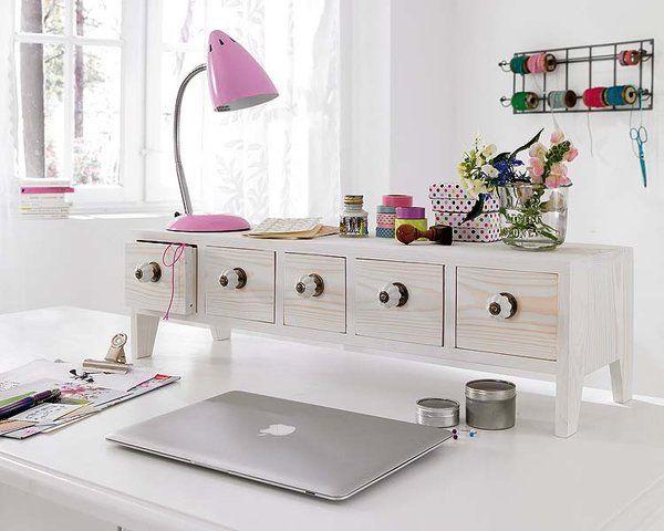 Stílusos tárolás dolgozóba, nőies dekoráció dolgozó, organisation home office