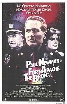 Fort Apache The Bronx http://upload.wikimedia.org/wikipedia/en/thumb/9/9d/Fort_apache_the_bronx.jpg/220px-Fort_apache_the_bronx.jpg