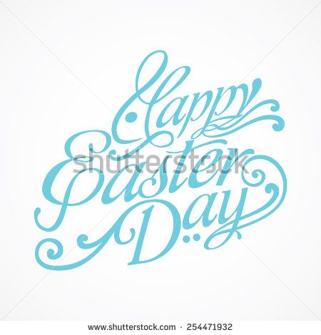 Happy Easter Day Decorative Logo - wow.. i see the rabbit.. Happy easter everyone ;)