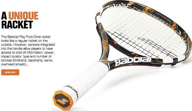 """Babolat Play Pure Drive: ecco la prima racchetta da tennis """"intelligente"""" - http://www.tecnoandroid.it/babolat-play-pure-drive-ecco-la-prima-racchetta-da-tennis-intelligente/"""