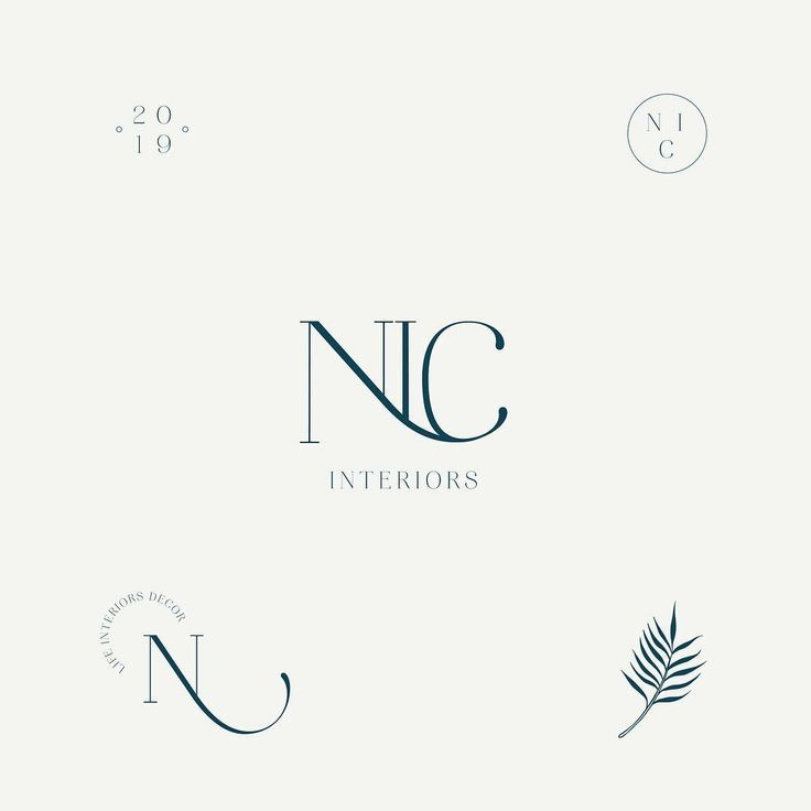 Logo Design Concepts For Nic Interiors Elizadesignsthings On