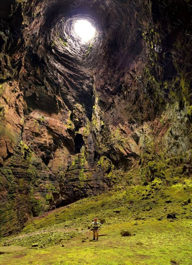 El Sótano de las Golondrinas, (the Cave of Swallows), in Mexico, is the largest known cave shaft in the world.