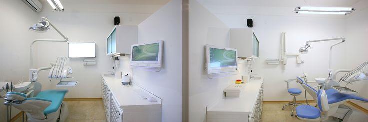 Le sale dello Studio Dentistico Cozzolino.