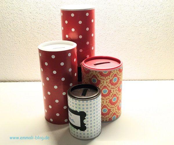 DIY – individuelle Sparboxen für Kinder zum einfachen Basteln   – Basteln