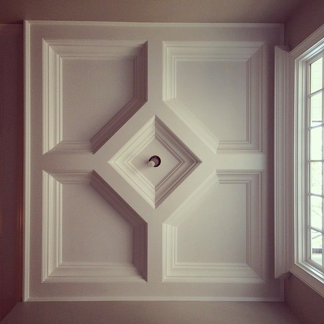 Akke Woodworks S Photo Quot Entry Foyer Coffered Ceiling In