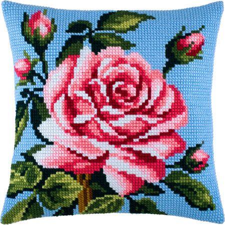 """Купить """"Роза Z-35"""". Производитель: Чарівниця. Раздел: Наборы для вышивки подушек крестом/Вышивание"""