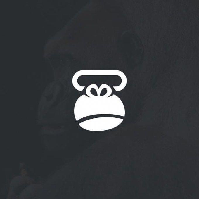 Fitness Transformation 3 Month Cool Logo Monkey Logo Design Logo Design