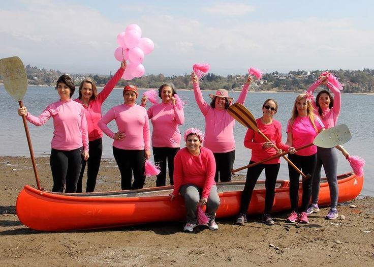 Una regata en el lago San Roque para prevenir el cáncer de mama - El Diario de Carlos Paz