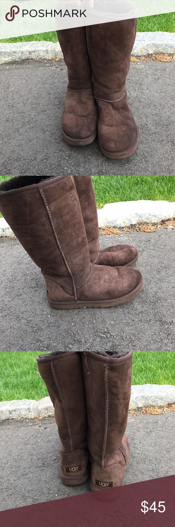 Authentic Australian Ugg Boots A little worn, but can be repaired. Very comfortable and warm. Ugg Australia. UGG Shoes