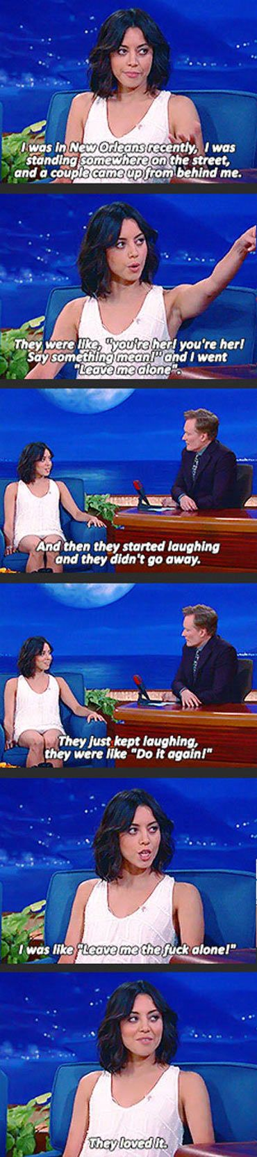 Reasons why I strongly relate to Aubrey Plaza