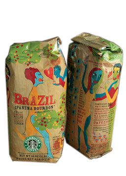 Looks very exotic. For all our #coffee loving #packaging peeps PD