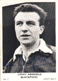 3. Jimmy Armfield Blackpool