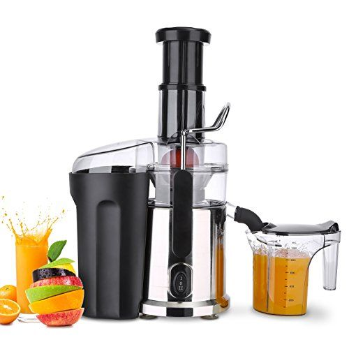 Centrifugal Juicers Juicer Extractor Machine Stainless Steel Electric Powerful