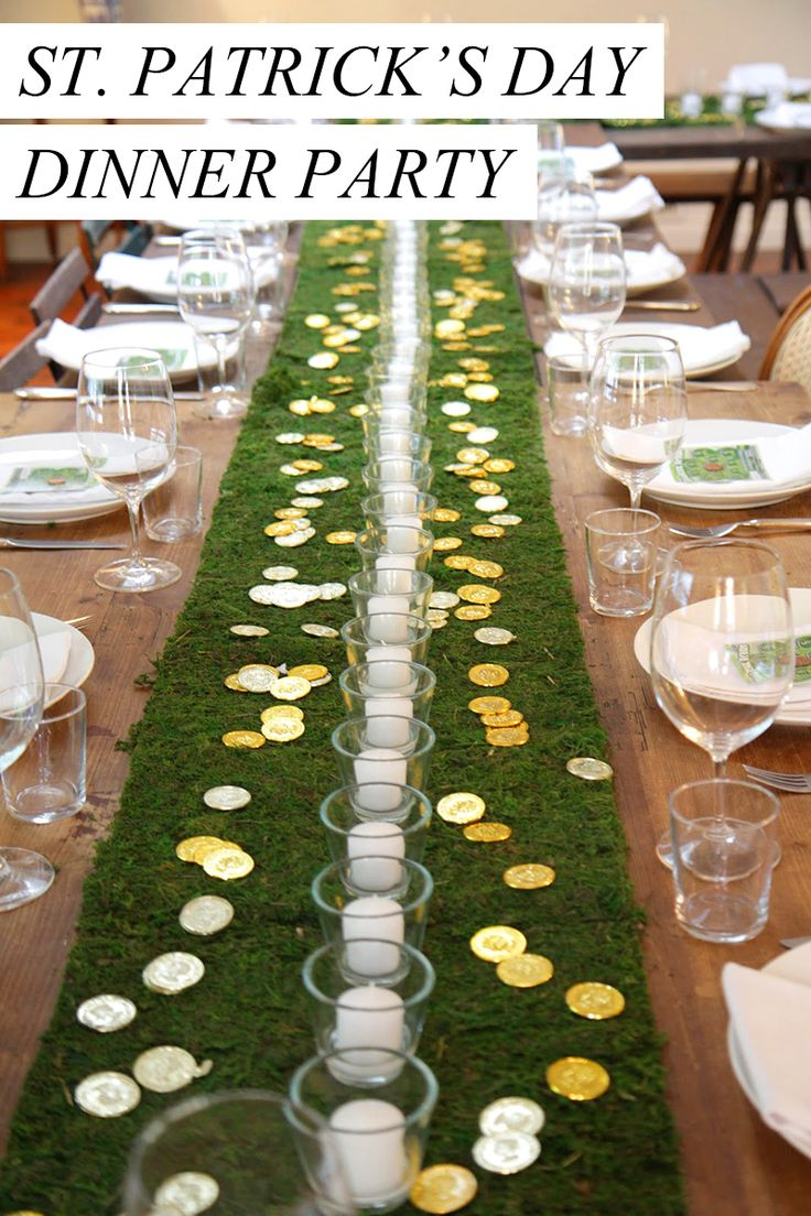 February Dinner Party Ideas Part - 38: Host The Ultimate St. Patricku0027s Day Dinner Party