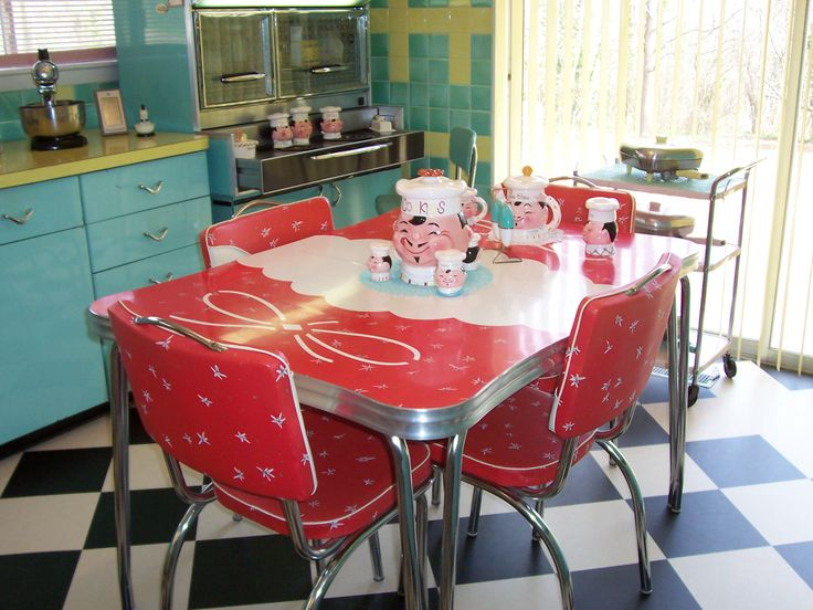 63 best Vintage/Retro Table and Chairs images on Pinterest | Retro ...