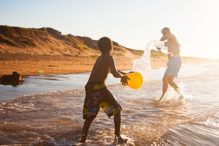 Fun on the beach at Prince Edward Island National Park.  Just nearby is Dalvay by the Sea where William and Kate stauyed a few year back. (Photo: Tourism PEI, Stephen Harris)